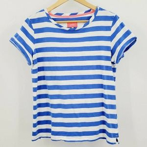Joules Nessa Stripe Jersey T-Shirt 12 Nautical Tee